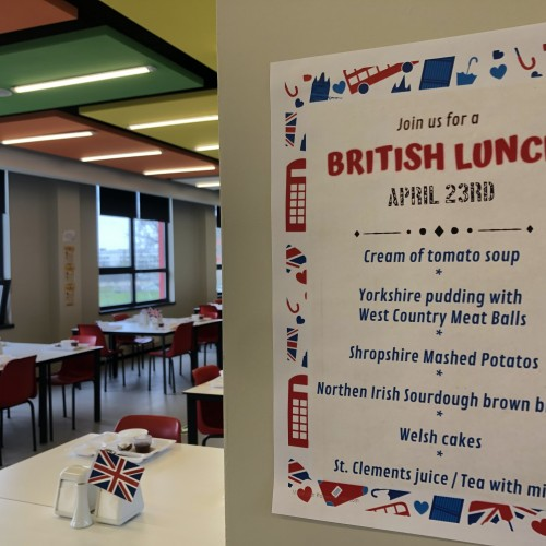 International Food Friday in the academic year 2020-2021